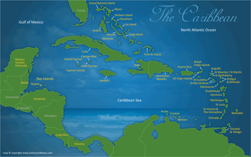 History of Caribbean Region